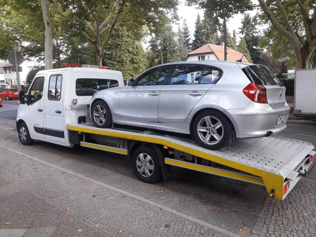 auto pomoc Niemcy